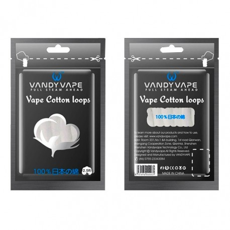 Bawełna 5pcs Vandy Vape Vape Cotton