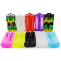Silicone Case for 2pcs 18650 Battery !