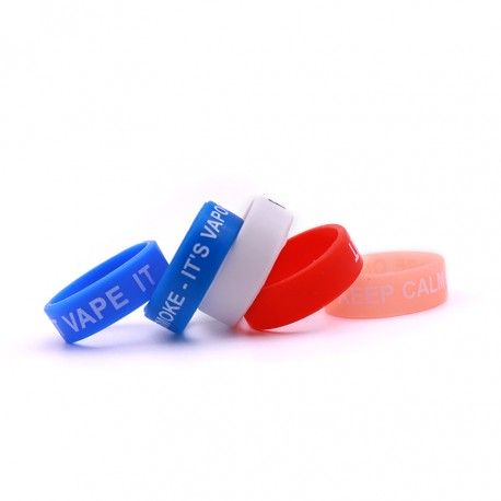 Anti slip silicone vape band with diameter of 20mm !