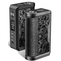 Lost Vape Centaurus DNA250C Box Mod Black / Ostrich Chopped Carbon Fiber !