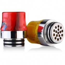 SS Resin 810 Drip Tip(Anti-Splash) !