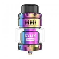 Vandy Vape Kylin Mini V2 RTA Atomizer 5ml Rainbow !