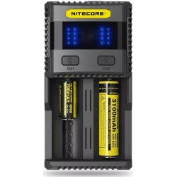 Ładowarka Nitecore SC2 3A Quick Charge Intelligent Battery Charger !