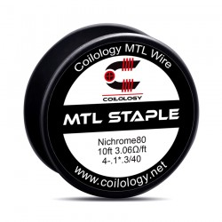 Drut oporowy 10ft Coilology MTL Staple Spool Wire