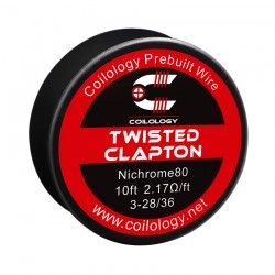 Drut oporowy 10ft Coilology Twisted Clapton Spool Wire 3-28ga/36ga(2.17ohm)