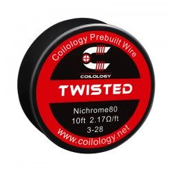 Drut oporowy 10ft Coilology Twisted Spool Wire 4-28ga(1.63ohm)